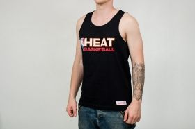 Тениска Mitchell & Ness NBA Miami Heat Team Issue Tank Top