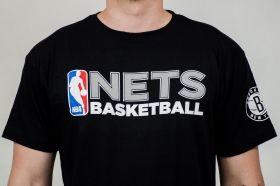 Тениска Mitchell & Ness NBA Brooklyn Nets Team Issue Traditional Tee