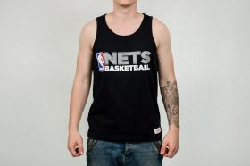 Тениска Mitchell & Ness NBA Brooklyn Nets Team Issue Tank Top