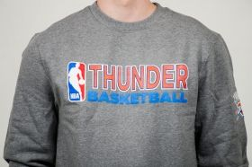 Суичър Mitchell & Ness NBA Oklahoma City Thunder Team Issue Crewneck Sweatshirt