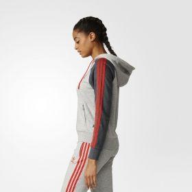 Суичър adidas Originals WMNS Girly Hoodie Jacket