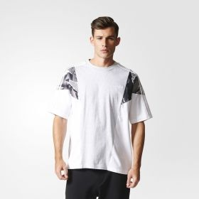 Тениска adidas Originals Los Angeles Trefoil Boxy Tee