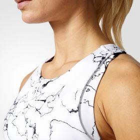 Тениска adidas WMNS Marble Speed Crop Tank Top