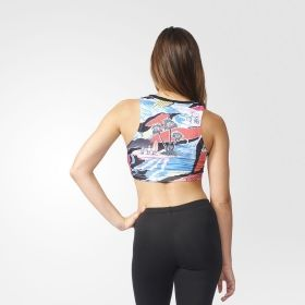 Тениска adidas Originals WMNS Printed Crop Tank Top