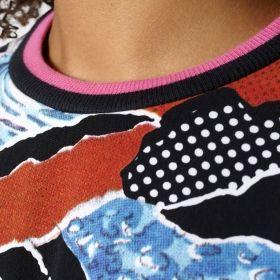 Суичър adidas Originals WMNS Printed Crewneck Sweatshirt
