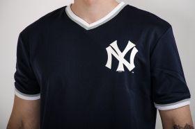 Тениска Majestic MLB New York Yankees Longline Warm Up Poly Jersey