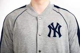 Суичър Majestic MLB New York Yankees Melter Fleece Letterman Jacket