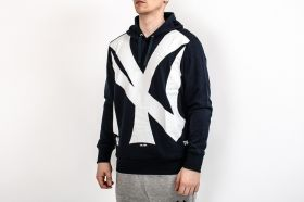 Суичър Majestic MLB New York Yankees Bater Loopback OTH Jacket