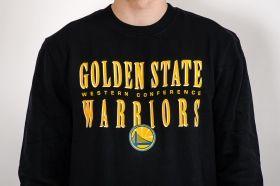 Суичър Mitchell & Ness NBA Golden State Warriors Tight Defense Crewneck Sweatshirt