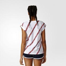 Тениска adidas Originals WMNS Roll Up Tee