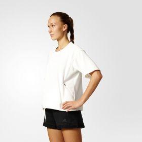 Суичър adidas WMNS Short Sweatshirt