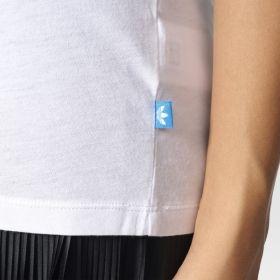 Тениска adidas Originals WMNS Rolled Up Tee