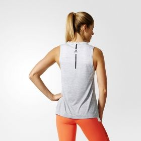 Тениска adidas WMNS Boxy Melange Tank Top