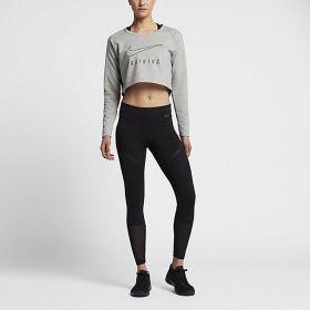 Суичър Nike WMNS Dry Versa Long Sleeve Crop Top