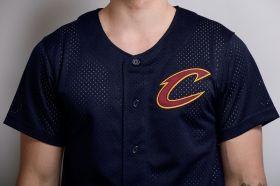 Тениска Mitchell & Ness NBA Cleveland Cavaliers Mesh Button Front Jersey