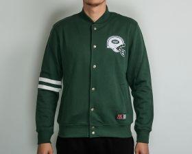 Суичър Majestic NFL New York Jets Emodin Fleece Letterman Jacket
