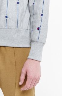 Суичър Champion Pinstripe 'C' Logo Crewneck Sweatshirt