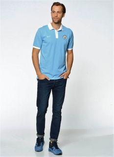 Тениска Nike Manchester City NSW Core Polo Shirt
