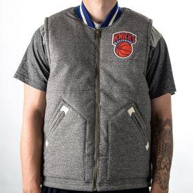 Type Vests Mitchell & Ness NBA New York Knicks Margin Of Victory Vest