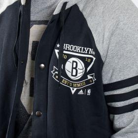 Суичър adidas NBA Brooklyn Nets Washed Jacket