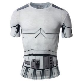 Тениска Under Armour Star Wars Trooper Compression Shirt