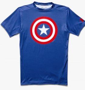 Тениска Under Armour Alter Ego Captain America Compression Shirt