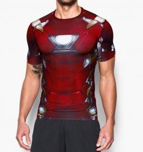 Тениска Under Armour Alter Ego Iron Man Compression Shirt