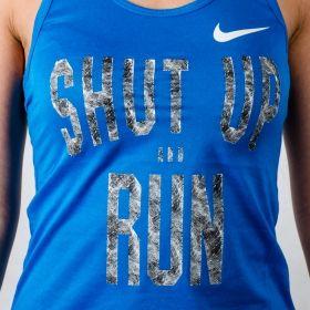 Тениска Nike WMNS Run Core Verbiage Tank
