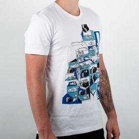 Тениска adidas Sneaker Scene Tee