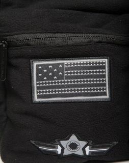 Раница Sprayground Ghost Shark Army Patches Backpack