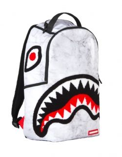 Раница Sprayground Lil White Marble Shark Backpack