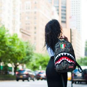 Раница Sprayground Italy Camo Shark Backpack