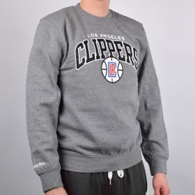 Суичър Mitchell & Ness Los Angeles Clippers Team Arch Crew