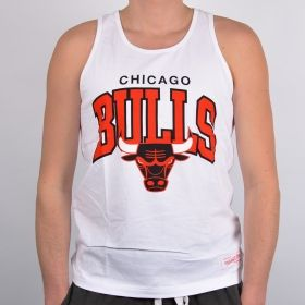 Тениска Mitchell & Ness Chicago Bulls Team Arch Tank