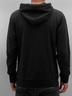 Just Rhyse / Zip Hoodie Ace in black