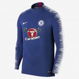 Type Hoodies Nike FC Chelsea 2018/19 VaporKnit Strike Drill Long Sleeve Football Top