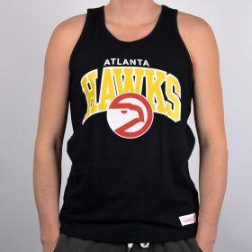 Тениска Mitchell & Ness Atlanta Hawks Team Arch Tank