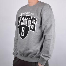 Суичър Mitchell & Ness Brooklyn Nets Team Arch Crew