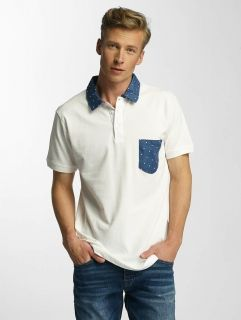 Cazzy Clang / Poloshirt Point in white