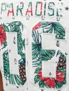 Just Rhyse / T-Shirt Paradise in white