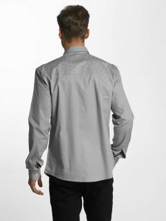Cazzy Clang / Shirt Squares in grey