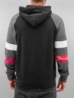 Just Rhyse / Zip Hoodie Toulon in black