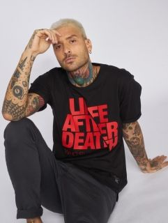 Who Shot Ya? / T-Shirt Life after death in black