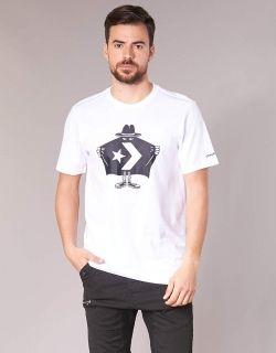 Тениска Converse Burglar White Tee