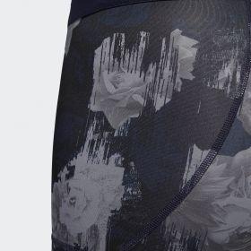 Къси панталони adidas Wmns Alphaskin Sport Floral Short Tights