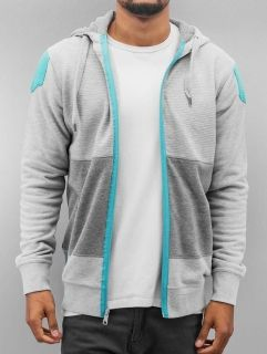 Just Rhyse / Zip Hoodie Wind in grey