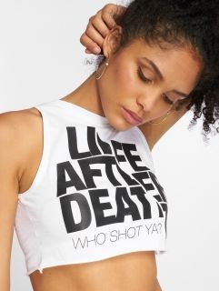 Who Shot Ya? / Tank Tops Life after death in white