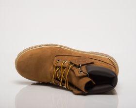 Кецове Timberland 6 Inch Premium Rust Nubuck Waterproof Junior Boots