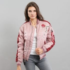Type Jackets Alpha Industries Wmns MA-1 Souvenir Bomber Jacket