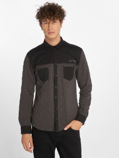 Just Rhyse / Shirt Quilted in black